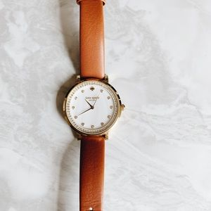 Brown Leather Kate Spade Watch